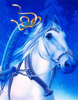 Новый год Год Лошади